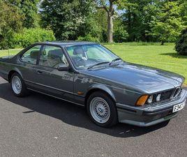BMW 6 SERIES 3.4 635CSI 2DR