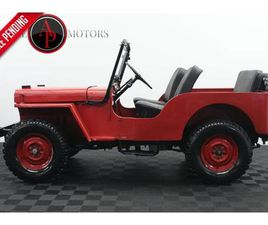 FOR SALE: 1956 JEEP WILLYS IN STATESVILLE, NORTH CAROLINA