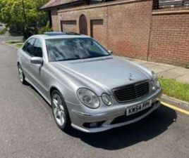 E55 AMG V8 SUPER CHARGED AUTO 4-DOOR