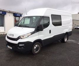 IVECO 35-140V12 / DOUBLE CABINE / 2019 / 13 839 KMS / 140CH
