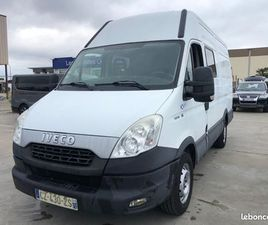 IVECO DAILY CABINE APPROFONDIE 35S15 L3H2 2.3 145CH AIR PRO + 7 PLACES