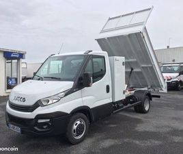 IVECO 35-160/ BENNE + COFFRE NEUF / 2019 / 70 112 KMS