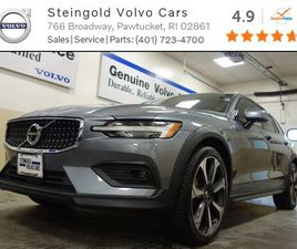 GRAY COLOR 2019 VOLVO V60 CROSS COUNTRY T5 FOR SALE IN PAWTUCKET, RI 02861. VIN IS YV4102W