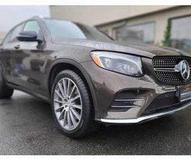 2017 MERCEDES-BENZ GLC43 AMG - WITH ONLY 58,750 KMS!!!