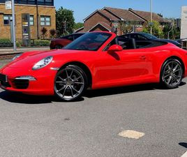PORSCHE 911 2DR PDK 3.4 AUTOMATIC CABRIOLET AT ASTON MARTIN BRENTWOOD (N30KMW) - IN STOCK
