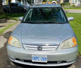 2003 HONDA CIVIC SPORT   CARS & TRUCKS   HAMILTON   KIJIJI