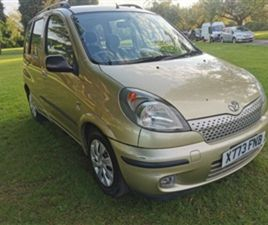 USED 2001 TOYOTA YARIS VERSO MPV 142,500 MILES IN BEIGE FOR SALE | CARSITE