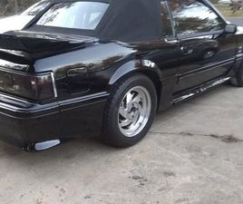 1989 FORD MUSTANG FOX BODY GT CONVERTIBLE
