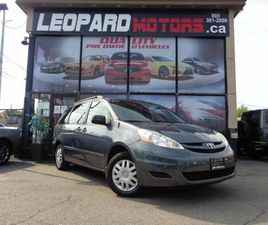 2009 TOYOTA SIENNA CE,7 PASSENGER,CRUISE CTRL,AUTOMATIC*NO ACCIDENT*CERTIFIED*   CARS & TR