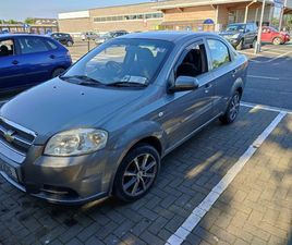 CHEVROLET AVEO FOR SALE IN DUBLIN FOR €3,250 ON DONEDEAL