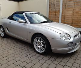 MG MGF 1.8 I VVC FREESTYLE 2DR
