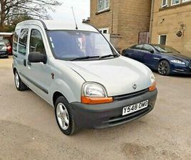 2001 RENAULT KANGOO 1.4 AUTO ONLY 33000 MILES CHAIRMAN MOBILITY RAMP PX WELCOME