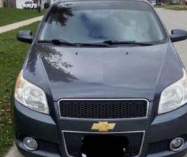 2010 CHEVROLET AVEO LT SAFETIED | CARS & TRUCKS | WOODSTOCK | KIJIJI