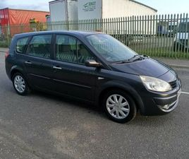 LEFT HAND DRIVE RENAULT GRAND SCENIC DIESEL 7 SEATER