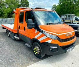 IVECO DAILY 70C 17 TILT SLIDE RECOVERY TRUCK. EX RAC 2016/16.