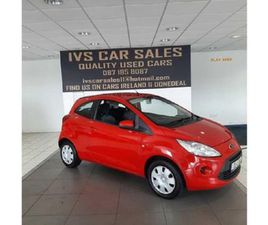 FORD KA EDGE 1.2 69PS FOR SALE IN DUBLIN FOR €6,450 ON DONEDEAL
