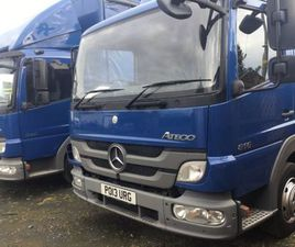 2013 MERCEDES ATEGO SLEEPER CAB FOR SALE IN ARMAGH FOR €1 ON DONEDEAL