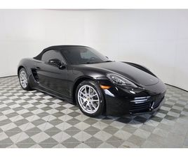BLACK COLOR 2017 PORSCHE 718 BOXSTER BASE FOR SALE IN OLIVE BRANCH, MS 38654. VIN IS WP0CA