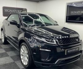 USED 2017 LAND ROVER RANGE ROVER EVOQUE 2.0 TD4 HSE DYNAMIC 3D 177 BHP CONVERTIBLE 31,721