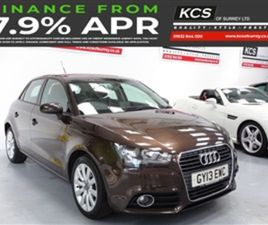 USED 2013 AUDI A1 2.0 SPORTBACK TDI SPORT 5D 141 BHP HATCHBACK 48,000 MILES IN BROWN FOR S