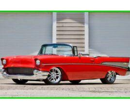 1957 CHEVROLET BEL AIR/150/210 CONVERTIBLE PRO TOUR / LT1 TPI V8 / NEWMAN C4 F