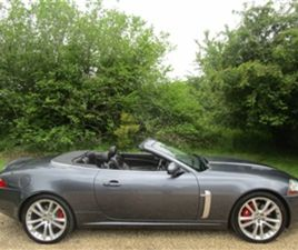 USED 2007 JAGUAR XKR 4.2 SUPERCHARGED V8 2DR AUTO CONVERTIBLE 105,000 MILES IN SLATE GREY