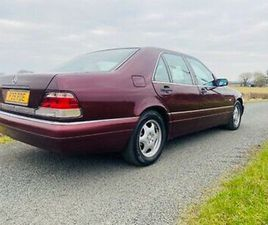 1997 MERCEDES BENZ W140 S280 SWB, 71000 MILES,FULL HISTORY,SPECIAL ORDER CAR!