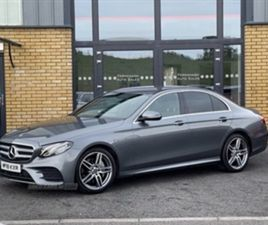 USED 2018 MERCEDES-BENZ E CLASS 220 D AMG LINAUTO SALOON 50,000 MILES IN GREY FOR SALE | C