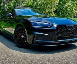 AUDI S5 2018 SPORTBACK S-LINE-PROGRESSIV NOIR SUR NOIR MAGS 20''   CARS & TRUCKS   LAVAL /