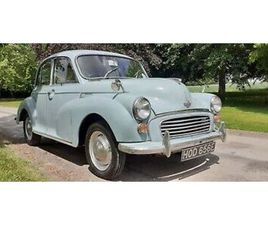 1967 MORRIS MINOR 4DR SALOON 'FREDA' ~ USE & IMPROVE ~ SOLID CHASSIS & FLOOR!