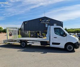 RENAULT MASTER III CHASSIS CABINE PORTE VOITURE DEPANNEUSE