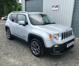 2015 JEEP RENEGADE 1.6TD LIMITED - £9,995