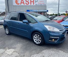 CITROEN C4 GRAN PICASSO 7 SEATER TAX & NCT FOR SALE IN DUBLIN FOR €3,950 ON DONEDEAL