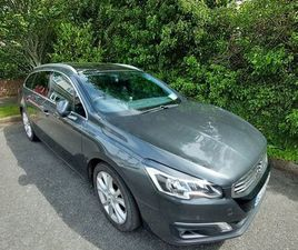 PEUGEOT 508SW ALLURE BLUE HDI FOR SALE IN KILDARE FOR €13,000 ON DONEDEAL