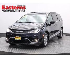 BLACK COLOR 2020 CHRYSLER PACIFICA TOURING-L FOR SALE IN HYATTSVILLE, MD 20784. VIN IS 2C4