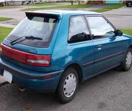 1990 - 1995 MAZDA 323 HATCHBACK