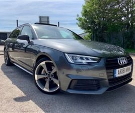 USED 2018 AUDI A4 AVANT TDI BLACK EDITION OVER £10K EXTRAS ESTATE 52,210 MILES IN GREY FO