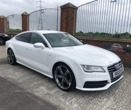 USED 2011 AUDI A7 S LINE TDI AUTO HATCHBACK 109,000 MILES IN WHITE FOR SALE | CARSITE
