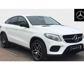 MERCEDES-BENZ GLE COUPE GLE 350D 4MATIC AMG LINE 5DR 9G-TRONIC 3.0