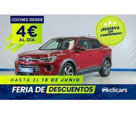 SSANGYONG KORANDO D16T LIMITED 4X4 AUTO 4X4, SUV O PICKUP DE SEGUNDA MANO EN MADRID   AUTO