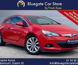 OPEL ASTRA GTC SRI 1.6 T 200PS 3DR NEW NCT 12 MON FOR SALE IN DUBLIN FOR €11,995 ON DONEDE