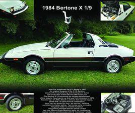 1984 FIAT X1/9 TARGA