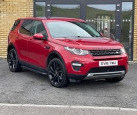USED 2016 LAND ROVER DISCOVERY SPORT HSE TD4 A ESTATE 75,000 MILES IN RED FOR SALE | CARSI