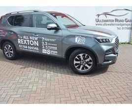SSANGYONG REXTON 2.2D ULTIMATE T-TRONIC 4WD 5DR