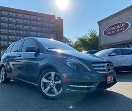 USED 2013 MERCEDES-BENZ B250 CAM | BSM | LDW | LEATHER | PANO ROOF | 4 NEW SNOW TIRES* |