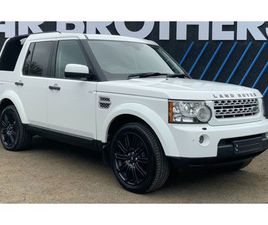 LAND ROVER DISCOVERY 3.0 4 SDV6 XS 5D 255 BHP