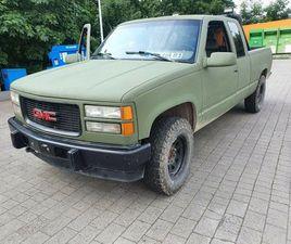 GMC SIERRA 6,5L V8 TD US TRUCK PICKUP LKW ALLRAD