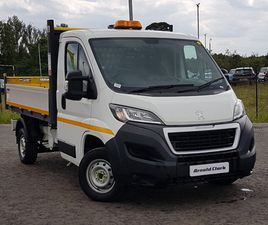 USED 2019 (19) PEUGEOT BOXER 2.0 BLUEHDI TIPPER 130PS PLUS IN STIRLING