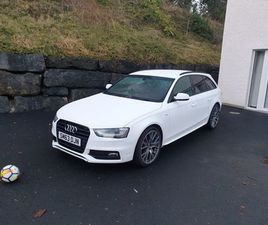 AUDI A4 AVANT BLACK EDITION FOR SALE IN FERMANAGH FOR €12,800 ON DONEDEAL