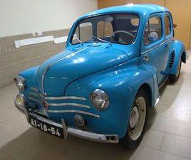 JOANINHA RENAULT 4 CV ANO 1952